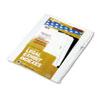 Kleer-Fax Kleer-Fax® 90000 Series Exhibit Alpha Side Tab Legal Index Divider KLF 91863