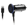 Acco Kensington® PowerBolt™ 3.4 Dual Port Fast Charge Car Charger KMW 39794