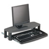 keyboard & mouse drawers & platforms: Kensington® Over/Under Keyboard Drawer SmartFit™ System