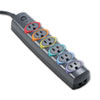 Kensington Kensington® SmartSockets® Color-Coded Six-Outlet Strip Surge Protector KMW 62146