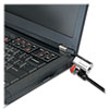 computer lock and security cables: Kensington® ClickSafe™ Keyed Laptop Lock
