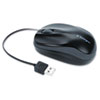 Kensington Kensington® Pro Fit™ Optical Mouse with Retractable Cord KMW 72339
