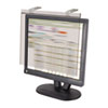 privacy screen: Kantek LCD Protect® Privacy Antiglare Deluxe Filter