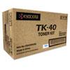 Mita Kyocera TK40 Toner, 9,000 Page-Yield, Black KYO TK40