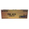 Mita Kyocera TK411 Toner, 15,000 Page-Yield, Black KYO TK411