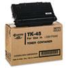 Kyocera Kyocera TK45 Toner, 12000 Page-Yield, Black KYO TK45