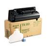Kyocera Kyocera TK60 Toner, 20000 Page-Yield, Black KYO TK60