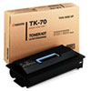 Kyocera Kyocera TK70 Toner, 40000 Page-Yield, Black KYO TK70