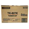 Mita Kyocera TK827K Toner, 15,000 Page-Yield, Black KYO TK827K