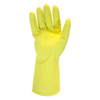 Safety Zone Flock Lined Latex Gloves - Large