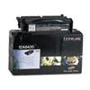 Lexmark Lexmark 12A8420 Toner, 6000 Page-Yield, Black LEX 12A8420