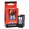 Lexmark Lexmark 18C0035 (35XL) High-Yield Ink, 475 Page-Yield, Tri-Color LEX 18C0035