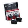 Lexmark Lexmark 18C0533 Ink, 200 Page-Yield, 2/Pack, Black LEX 18C0533
