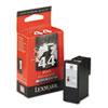 Lexmark Lexmark 18Y0144 Ink, 500 Page-Yield, Black LEX 18Y0144