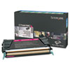 Lexmark Lexmark C748H1MG High-Yield Toner, 10000 Page-Yield, Magenta LEX C748H1MG