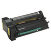 Lexmark Lexmark C7720YX Extra High-Yield Toner, 15000 Page-Yield, Yellow LEX C7720YX