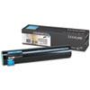 Lexmark Lexmark C930H2CG High-Yield Toner, 24000 Page-Yield, Cyan LEXC930H2CG