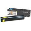 Lexmark Lexmark C930H2YG High-Yield Toner, 24000 Page-Yield, Yellow LEXC930H2YG