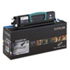 Lexmark Lexmark E352H11A High-Yield Toner, 9000 Page-Yield, Black LEX E352H11A