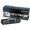 Lexmark Lexmark X340A21G Toner, 2500 Page-Yield, Black LEX X340A21G