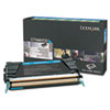 Lexmark Lexmark X748H1CG High-Yield Toner, 10000 Page-Yield, Cyan LEX X748H1CG