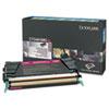 Lexmark Lexmark X748H1MG High-Yield Toner, 10000 Page-Yield, Magenta LEX X748H1MG