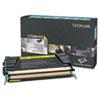 Lexmark Lexmark X748H1YG High-Yield Toner, 10000 Page-Yield, Yellow LEX X748H1YG