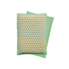 cleaning chemicals, brushes, hand wipers, sponges, squeegees: Libman - Power Scrub Dots Kitchen & Bath Sponge
