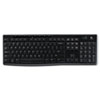 Logitech Logitech® K270 Wireless Keyboard LOG 920003051