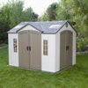 Lifetime Products 10 x 8 Garden Shed with 2 Doors LTM 60001