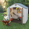 Lifetime Products Sentinel 8 x 7.5 Shed LTM 6411