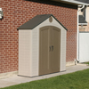 Storage Sheds: Lifetime Products - Sentinel 8' x 2.5' Shed