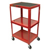 Luxor Duraweld Adjustable Height Table LUX AVJ42-RD