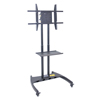 Luxor TV Mount Stands: Luxor - FP3500 Series Adjustable Flat Panel Cart and Rotating Mount