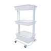 utility carts, trucks and ladders: Luxor - Kitchen Utility Cart, White