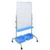 dry erase boards: Luxor - Classroom Whiteboard Stand with Storage Bins