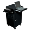 Luxor Multi-Media Cart LUXLMC2-BLACK
