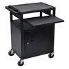 Luxor LP Series Presentation Cart LUX LP34CLE-B