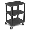 Clean and Green: Luxor - Specialty Utility 3-Shelf Cart
