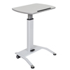 Luxor Pneumatic Height Adjustable Lectern LUX LX-PNADJ-WH