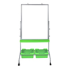 Luxor Classroom Chart Stand with Storage Bins LUX MB3040WBIN