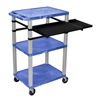 "Cake Pie Covers Stands: Luxor - 42"" Tuffy Presentation Station With Pullout Shelves and Electric"