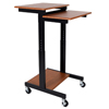 Luxor Adjustable Height Presentation Workstation LUX PS3945-T