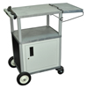 Luxor Bussing & Serving Cart LUX SCB30C-G