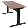 Luxor Pneumatic Adjustable Height Standing Desk LUX SPN56F-BK/TK