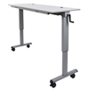 Luxor Adjustable Flip Top Table, Crank Handle LUX STAND-NESTC-60