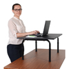computer workstations: Luxor - Desktop Standing Desk