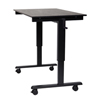 Luxor Crank Adjustable Stand Up Desk LUX STANDCF48-BK/BO