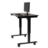Luxor Electric Standing Desk LUX STANDE-48-BK/BO