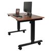 Luxor Electric Standing Desk LUX STANDE-48-BK-TK